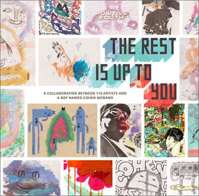 Cohen Morano 'The Rest Is Up To You' Book Edition of 144 Pages $30 Each