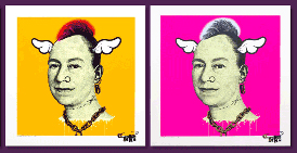 D*Face 'More Punk Than You Punk' Edition of 45 Each Size: 60 x 60 cm £250 Each
