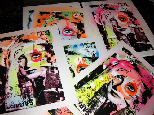 Dain 'Skylark Davis' Edition of 30 Size: 22 x 30 Inches $275 Each
