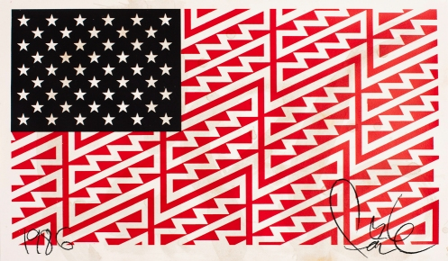 Faile 'Star Spangled Shadows' Edition of 300 Size: 23 x 18 Inches $250 Each