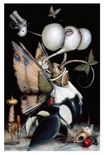Greg 'Craola' Simkins 'Damsel' Edition of 100 Size: 16 x 24 Inches $125 Each