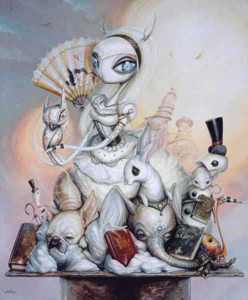 Greg 'Craola' Simkins 'Season's Change' Edition of 50 Size: 20 x 24 Inches $450 Each