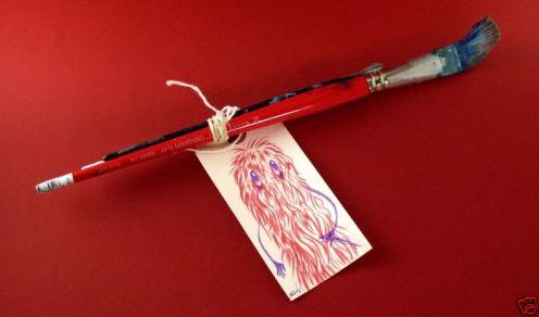 Jeff Soto 'Artist Signed Brush'