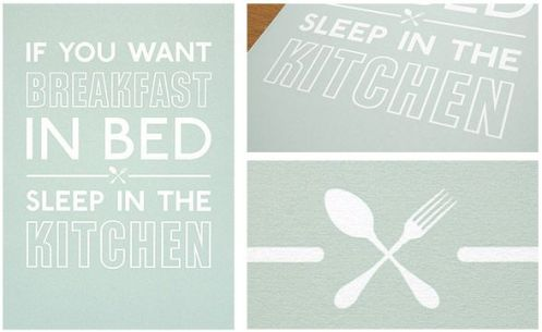 Keep Calm 'Breakfast In Bed' Size: 16.5 x 23.4 Inches $31.74 Each