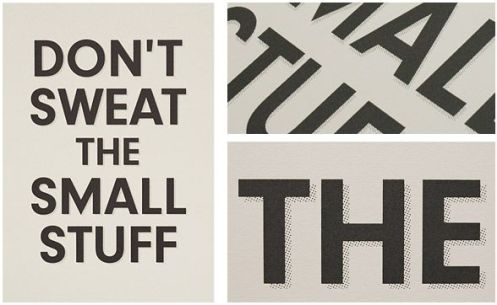 Keep Calm 'Don't Sweat The Small Stuff' Size: 16.5 x 23.4 Inches $31.74 Each