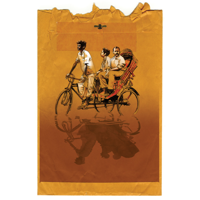 Jamie Hewlett 'Rickshaw' Edition of 100 Size: 420 x 594 mm £100 Each