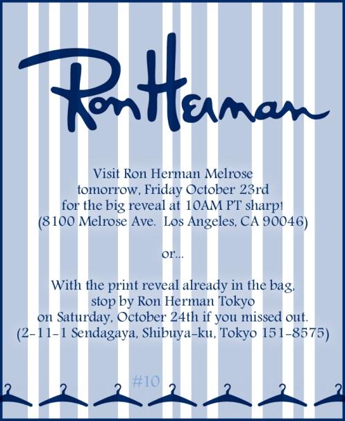 LOST 10 ron herman