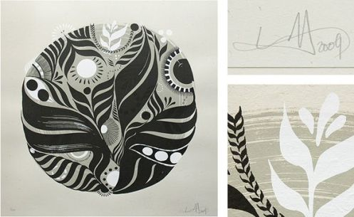 Lucy McLauchlan 'Grow Your Greens' Edition of 100 Size: 50 x 50 cm $212 Each