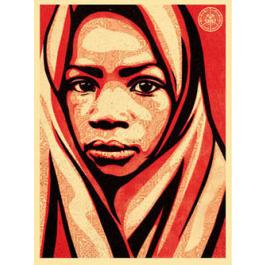 Obey 'Uganda L.E.A.D' Blanket Edition of 450 Size: 18 x 24 Inches $75 Each
