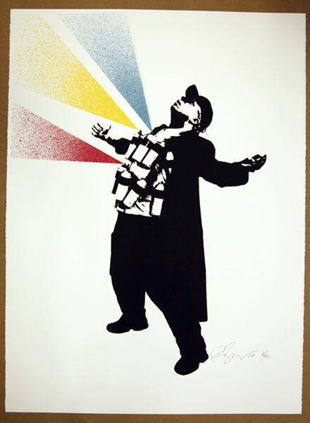 Rene Gagnon 'Bomber' Edition of 85 Size: 22 x 30 Inches $85 Each