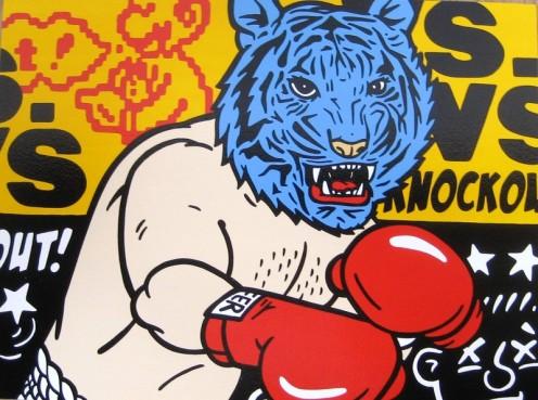 Scot Lafavor 'Versus' Original 24 x 18 Inches $1,500