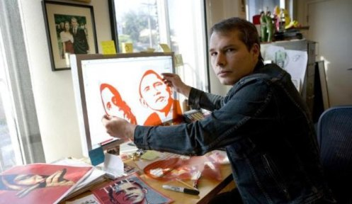 Shepard Fairey Obama Rubyliths