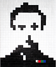 I Love This 8 Bit Self Portrait