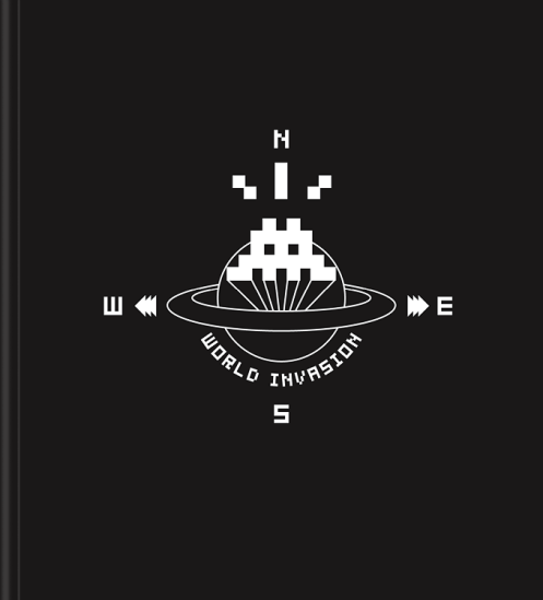 Space Invader 'World Invasion' Book Size: 9.5 x 10.5 Inches $40 Each